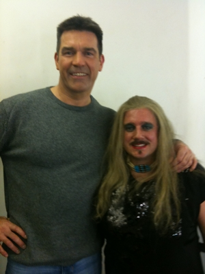 simon cowell lookalike and wagbo